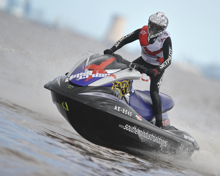 Steve Hockney - P1 AquaX Rider