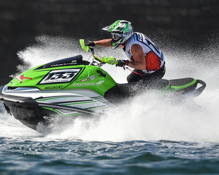 Richard Rowe - P1 AquaX Rider