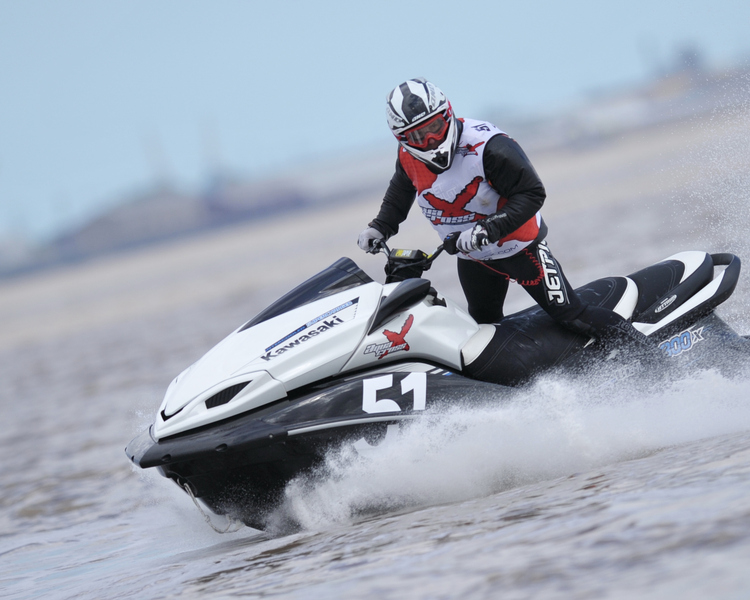 Jim Goodchild - P1 AquaX Rider