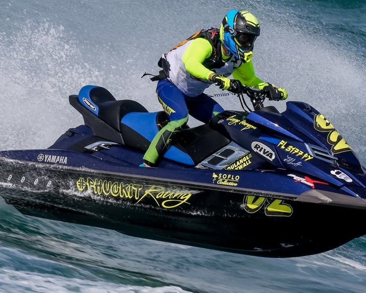 George Holmquist - P1 AquaX Rider