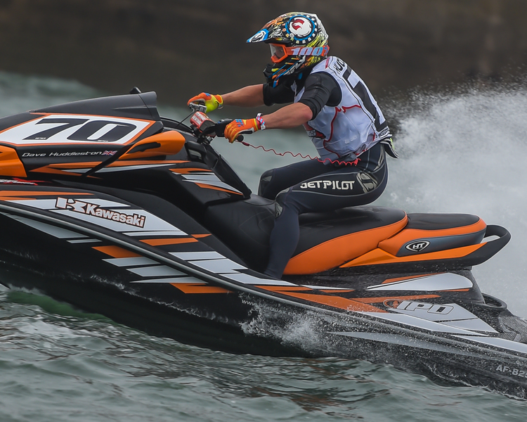 Dave Huddleston - P1 AquaX Rider