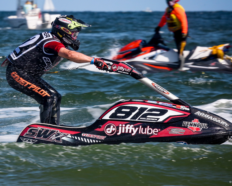 Mike Kelberer - P1 AquaX Rider