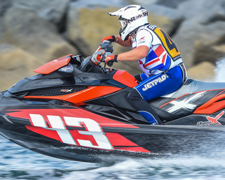 Joe Leeming - P1 AquaX Rider