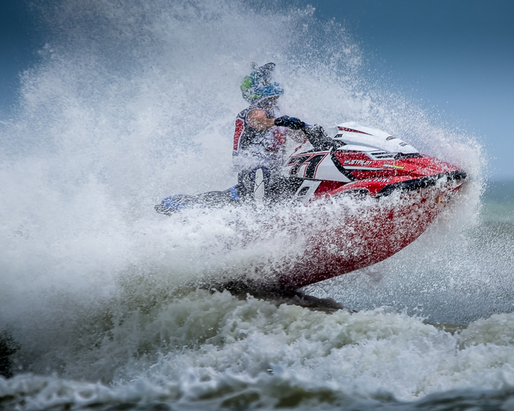 Chris Saxon - P1 AquaX Rider