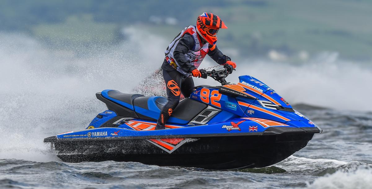 Richard Cable 2017 Jetski Racer P1 Aquax
